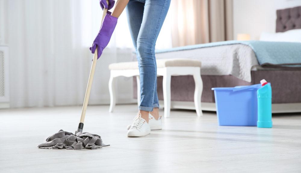 nettoyage sol de maison